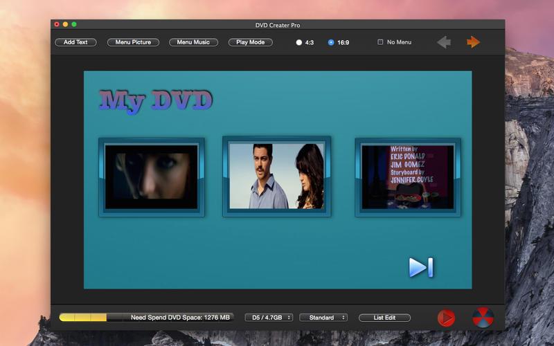 DVD Maker Pro - Video Photo Burn Lite Screenshot - 2