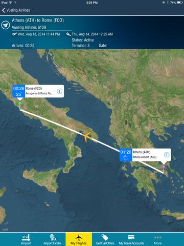 Rome Fiumicino Airport + Flight Tracker Premium HD Roma FCO