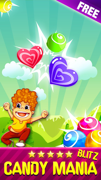 Candy Blitz Mania - Blast Of Match 3 Puzzles For Kids Free