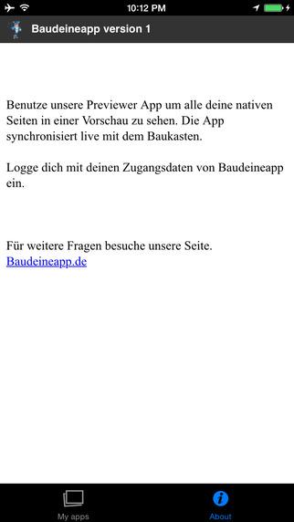 BauDeineApp