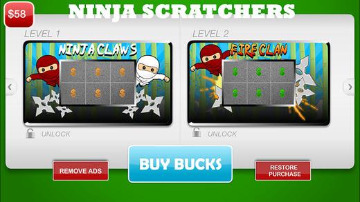 Ninja Scratchers