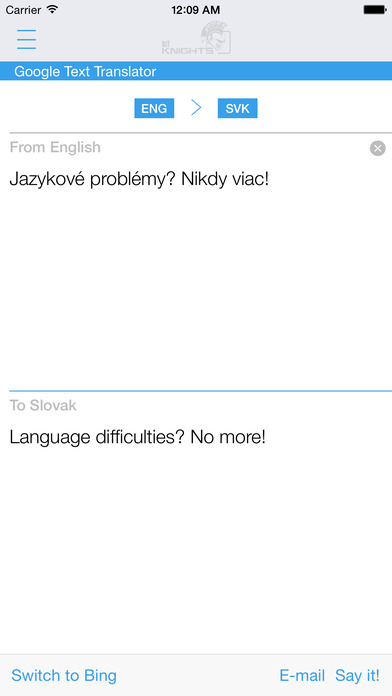 Slovak English Dictionary & Translator iPhone Screenshot 3