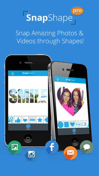 SnapShape Pro - Framed Photo Enhancer for Tagged Silhouette Picture Borders