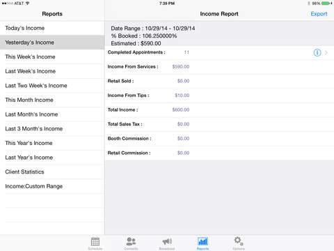 MyChair iPad Screenshot 4