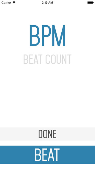 BPM Beat Counter