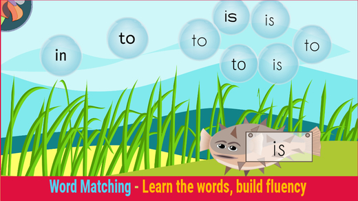 ParrotFish Sight Words and Reading Skills - FREE DEMO