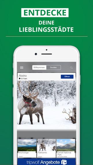 Alaska - dein Reiseführer mit Offline Karte von tripwolf Guide für Sehenswürdigkeiten Touren und Hot