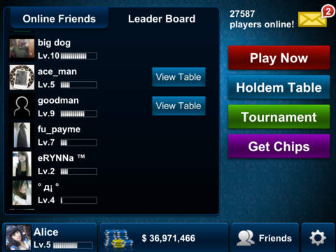 Texas Holdem Poker screenshot