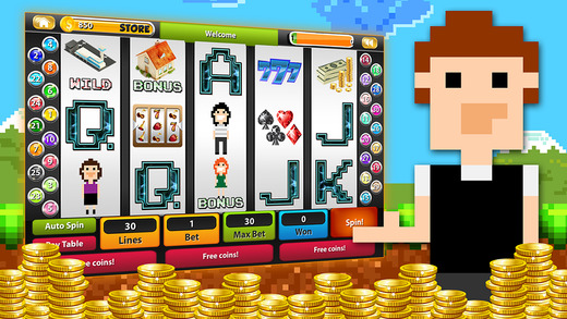 WorldCraft Slot of Cubes HD Pocket Casino Edition