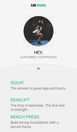 Fitness Avatar: Exercise Trainer from Raw Origins – for Squat Deadlift and Bench Press.