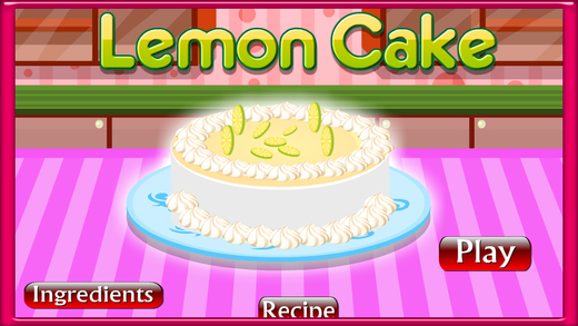 Cake Master Bake Lemon Cake