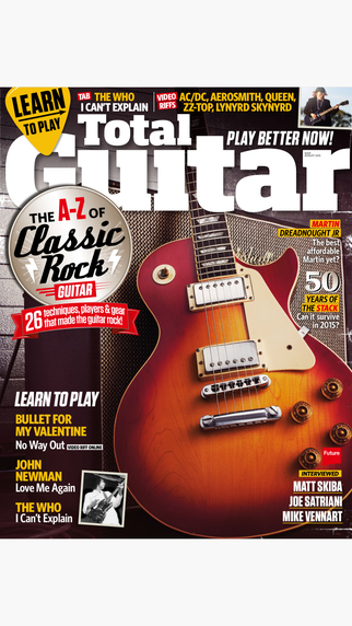 Total Guitar: the guitar magazine packed with lessons tabs interviews