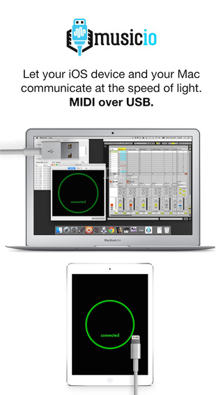 Music IO: MIDI over USB