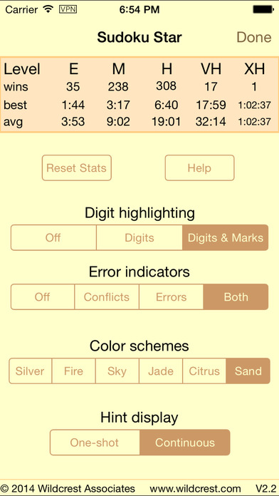 Sudoku Star iPhone Screenshot 2