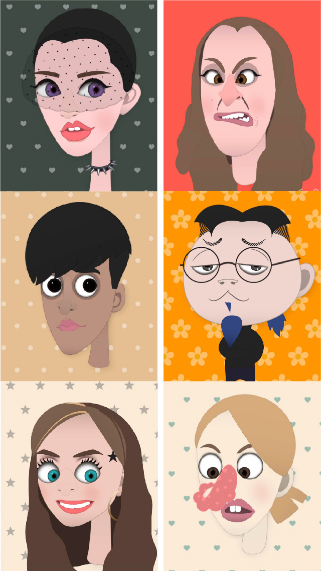 我们是face pro——一款专业炫酷的拼脸软件,用于头像,肖像制作.