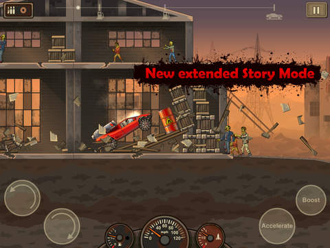 ipad Earn to Die 2 Screenshot 1