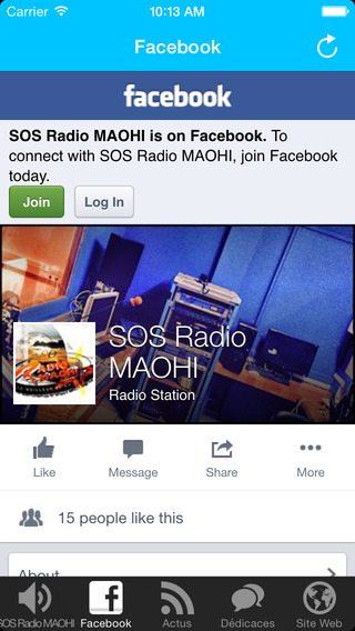 SOS Radio MAOHI