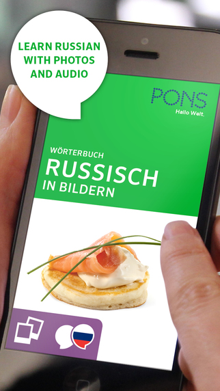PONS Picture Dictionary Russian - Learn Russian with Audios and Images