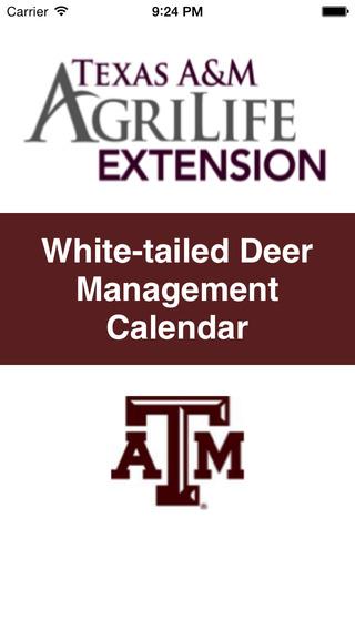 White-tailed Deer Management Calendar