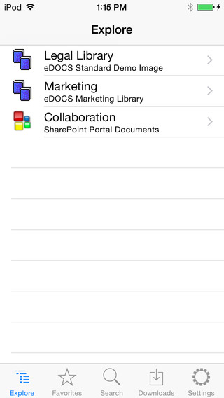 SeeUnity Vortex Content Mobility for iPhone