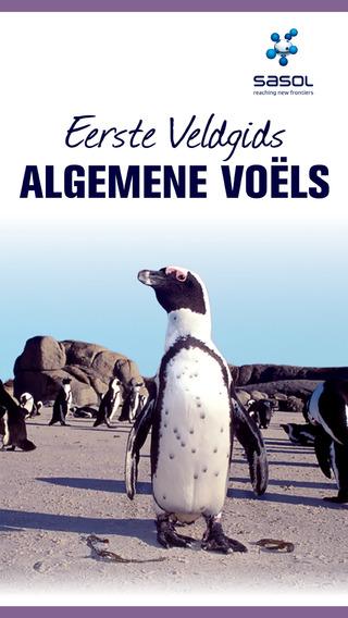Sasol Eerste Veldgids Algemene Voëls van Suider Afrika Volle weergawe