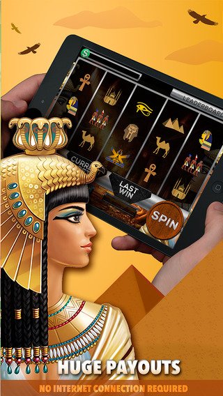 Tombs of Cleopatra Slots - FREE Slot Game Special Edition