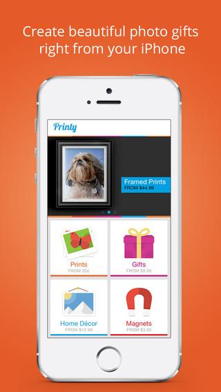 Printy - Order photo gifts and prints from your phone