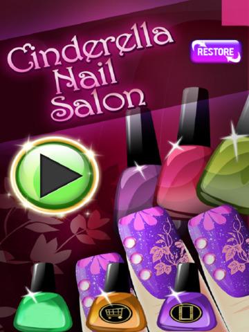 Cinderella Nail Salon Fashion Design Art App