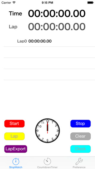 MitePlus - the easy and simple stopwatch and countdown timer app