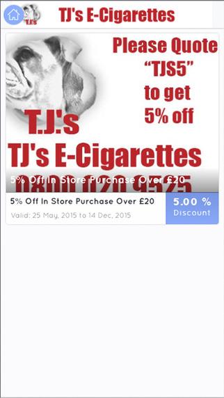 Tjs E Cigarettes