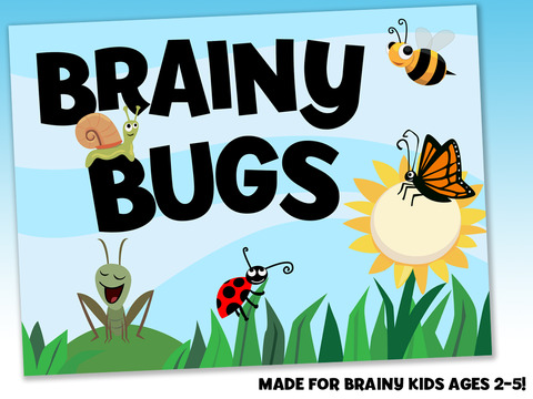 Brainy Bugs' Preschool Games for iPad