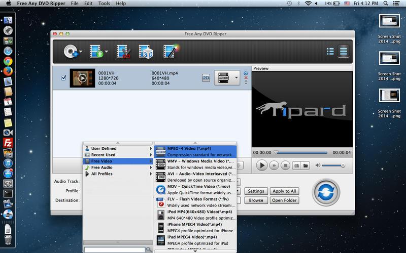 Free Any DVD Ripper Screenshot - 4