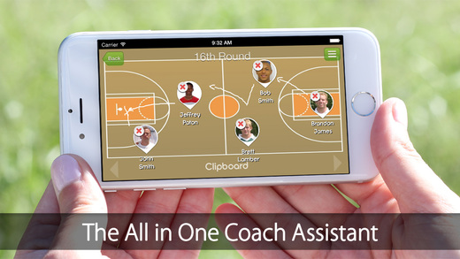 iGrade for Basketball Coach Player's management with Roster Game and Practice Schedule Performance T