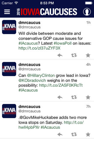 Iowa Caucuses screenshot 4