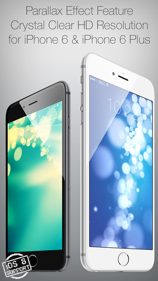 Colored 3D Wallpapers for Your New iPhone and iOS 8