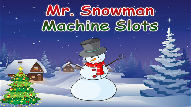Mr Snowman Machine Vegas Slot-s Casino Pro