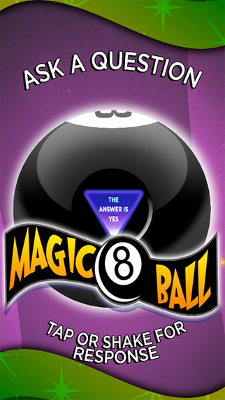 Magic 8 ball - decides for you