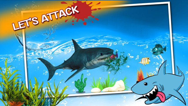 Angry Shark Attack:Mission Seafood:Prey to Survive