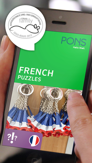 French Puzzles – play and learn with PONS