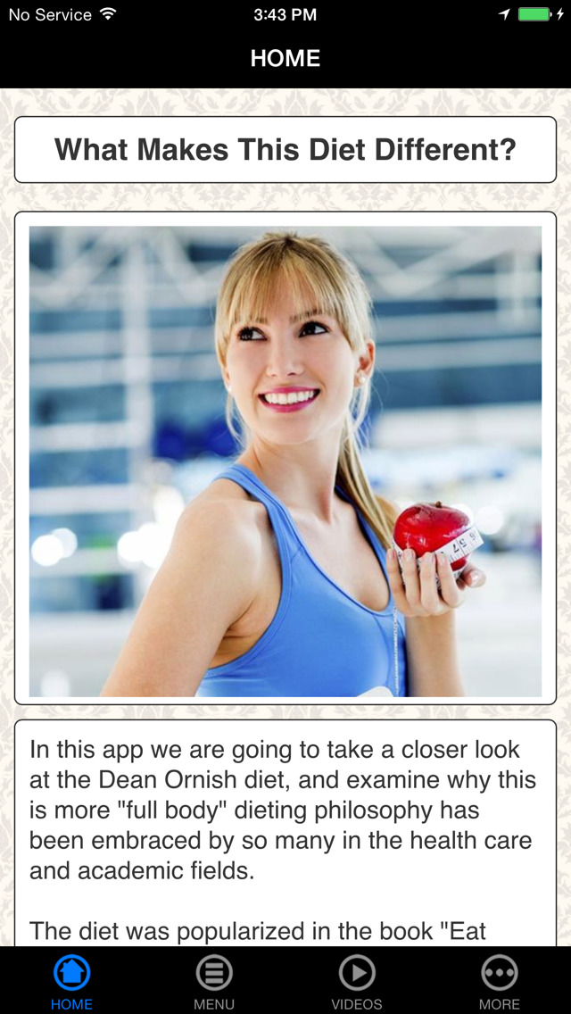 App Shopper: Dean Ornish Spectrum Diet - Best Body ...