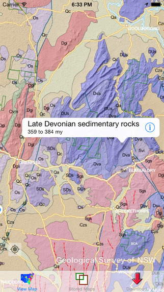 NSW Geology Maps