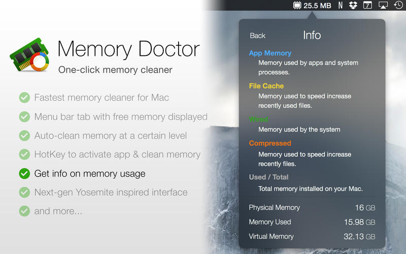 Memory Doctor Screenshot - 3