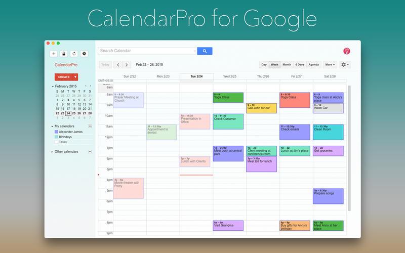 CalendarPro for Google Screenshot - 1
