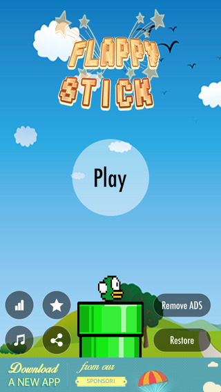 Stick Flappy - Stretch Me To The End