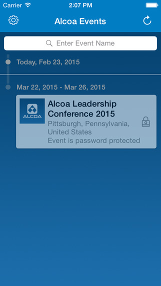 Alcoa Events