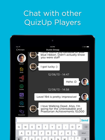 how to find friends on quizup