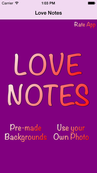 Love Notes: Hand Written Notes Free