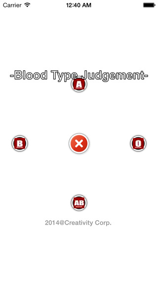 Blood-Type Judgment