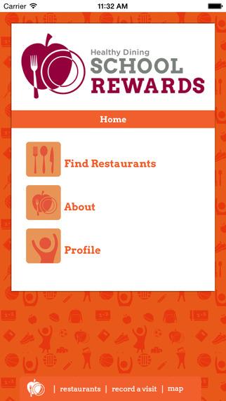Healthy Dining School Rewards