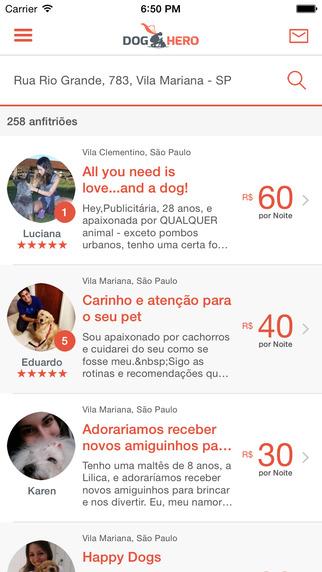 DogHero - Hospedagem para Cachorros